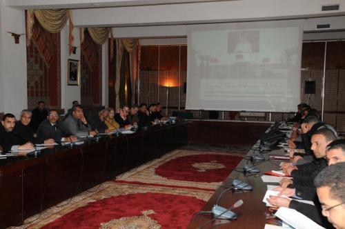 Journee de communication en 2014 ain sebaa hay mohammadi (3)