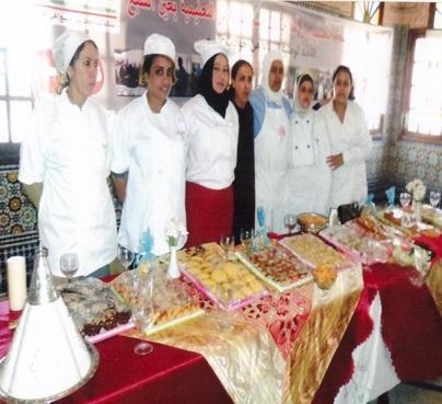 centre la source pour la formation pour art culinaire indh ain sebaa3