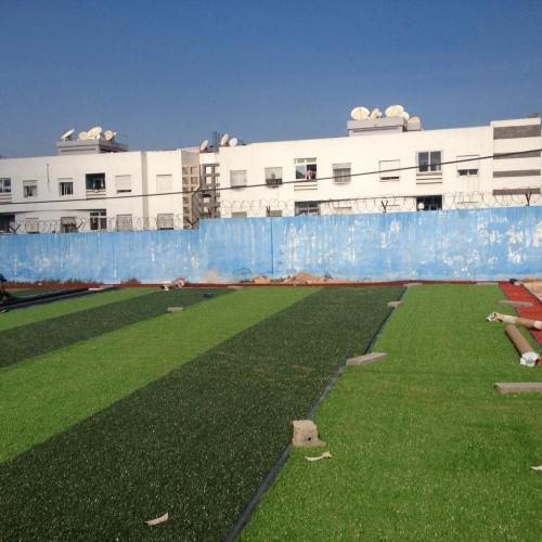 terrain de sport INDH residence chabab ain sebaa (1)