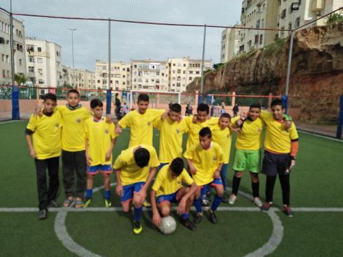 terrain de sport amane 2 ain sebaa INDH (10)
