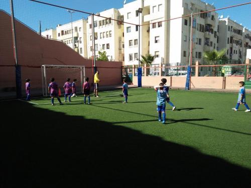 terrain de sport amane 2 ain sebaa INDH (2)