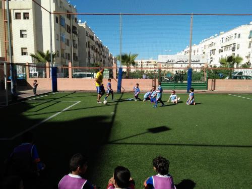 terrain de sport amane 2 ain sebaa INDH (3)