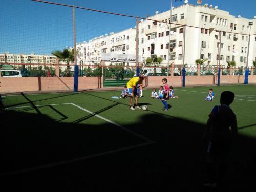 terrain de sport amane 2 ain sebaa INDH (4)