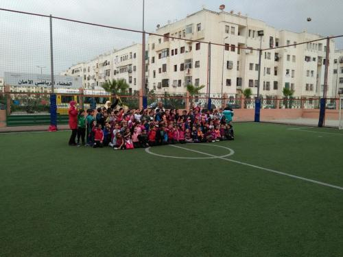 terrain de sport amane 2 ain sebaa INDH (5)