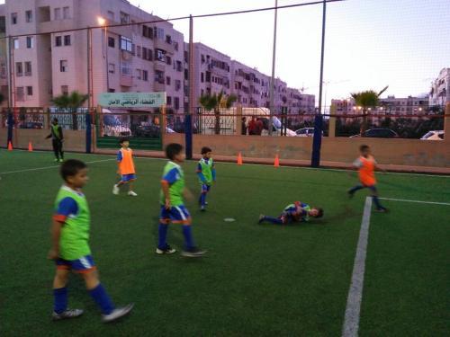terrain de sport amane 2 ain sebaa INDH (8)